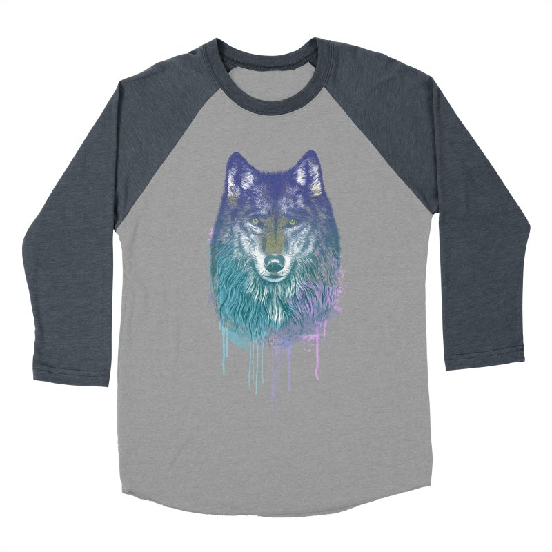I Dream of Wolf Men's Baseball Triblend T-Shirt by rcaldwell's Shop