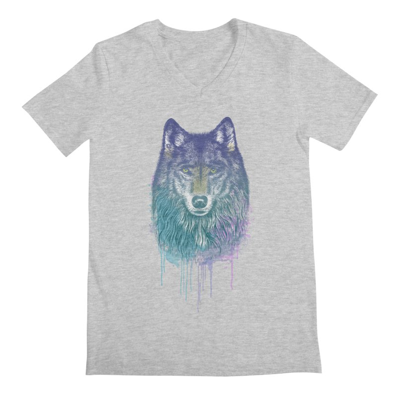 I Dream of Wolf Men's V-Neck by rcaldwell's Shop