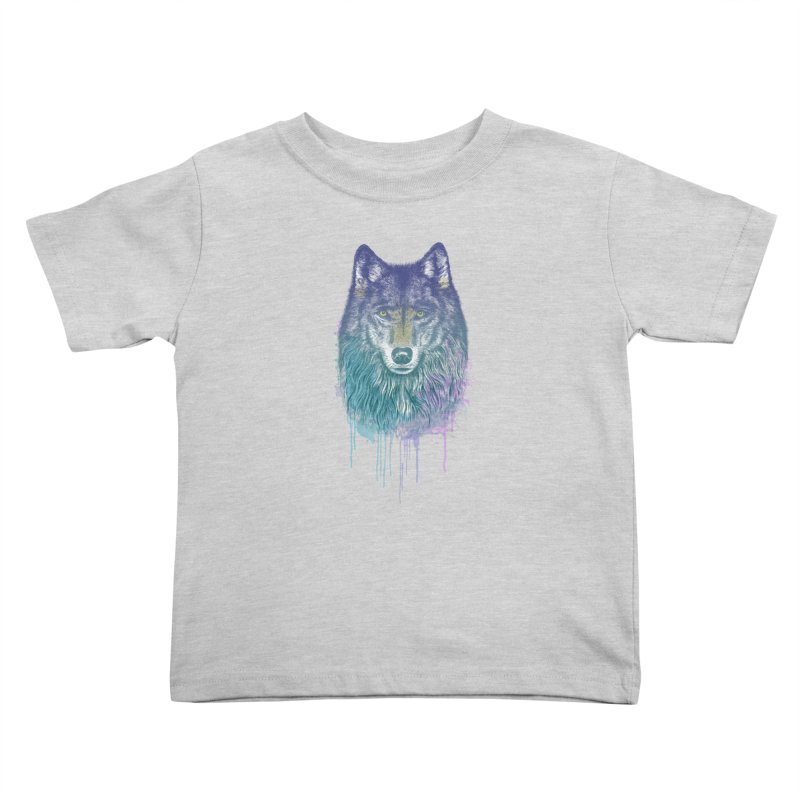 I Dream of Wolf Kids Toddler T-Shirt by rcaldwell's Shop