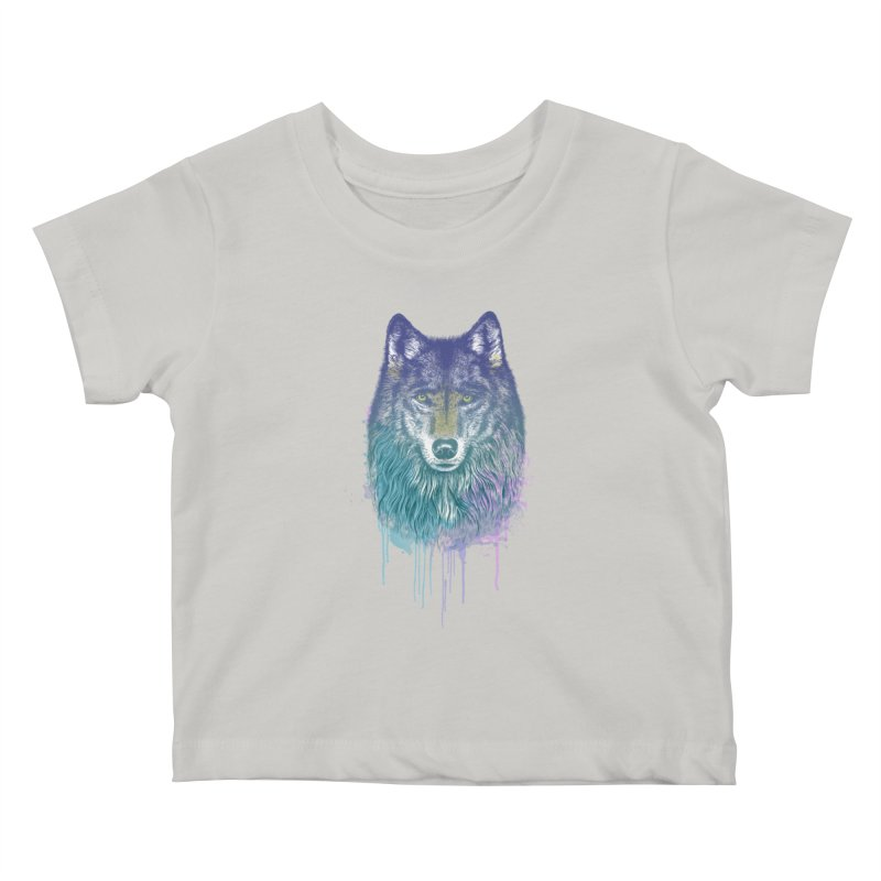 I Dream of Wolf Kids Baby T-Shirt by rcaldwell's Shop