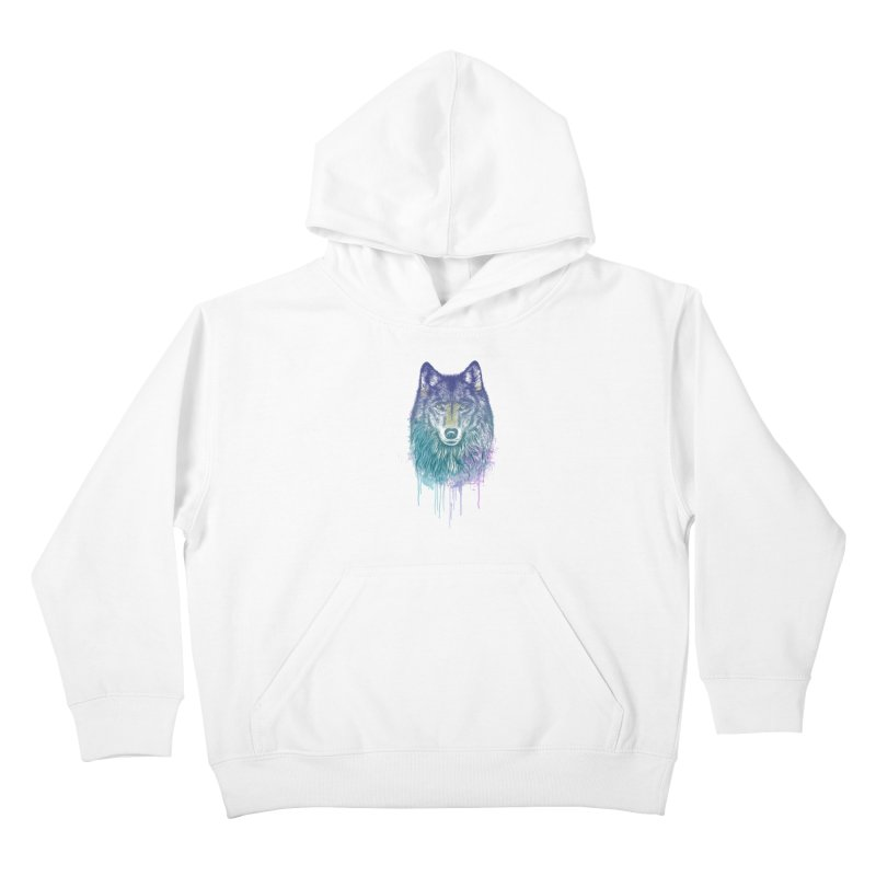 I Dream of Wolf Kids Pullover Hoody by rcaldwell's Shop
