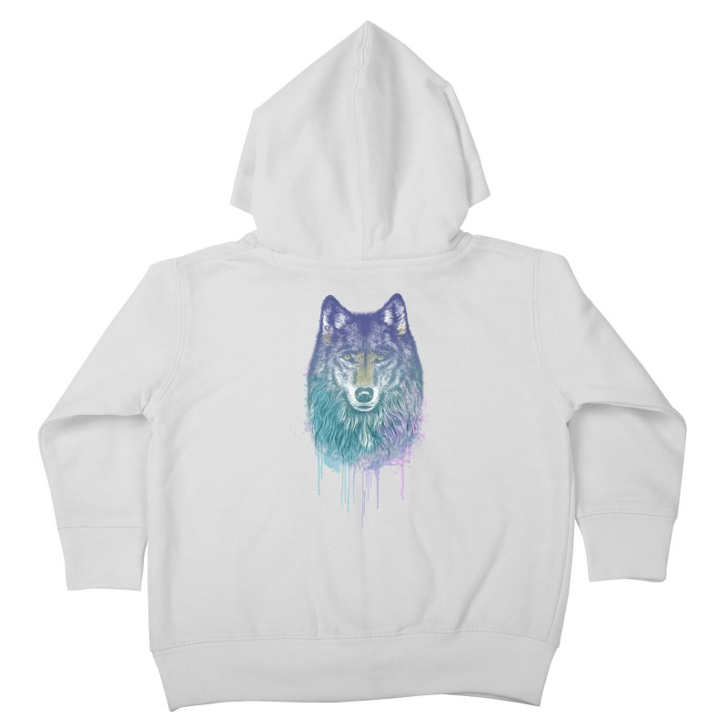 I Dream of Wolf Kids Toddler Zip-Up Hoody by rcaldwell's Shop