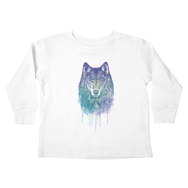 I Dream of Wolf Kids Toddler Longsleeve T-Shirt by rcaldwell's Shop