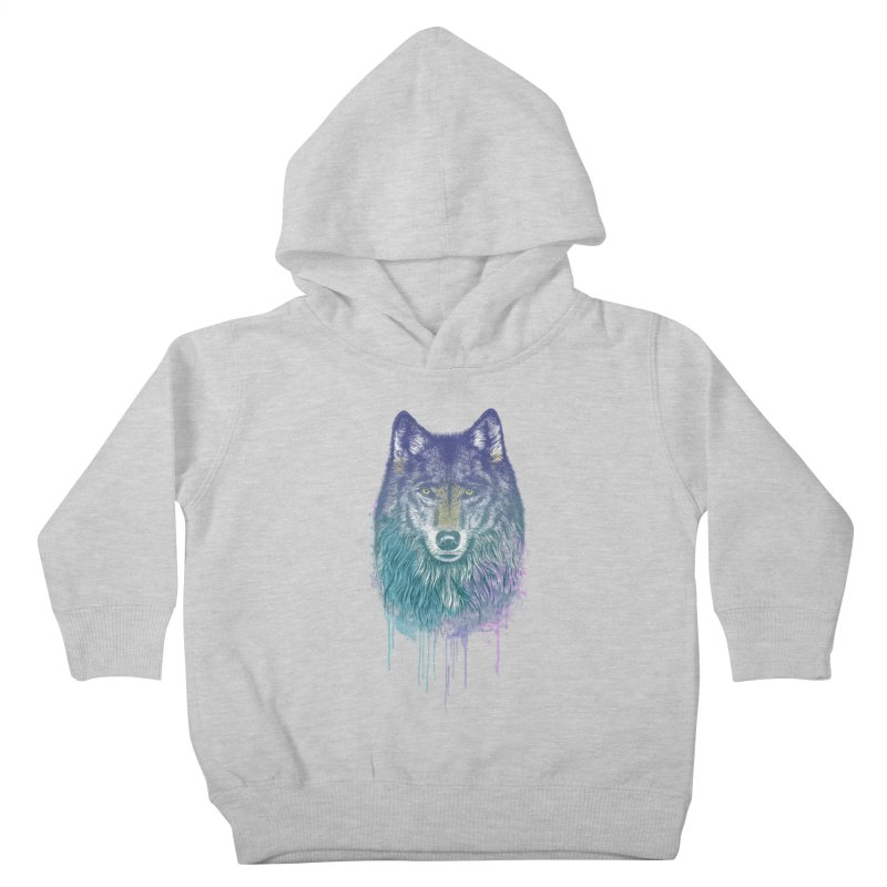 I Dream of Wolf Kids Toddler Pullover Hoody by rcaldwell's Shop