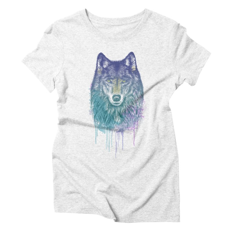 I Dream of Wolf Women's Triblend T-shirt by rcaldwell's Shop