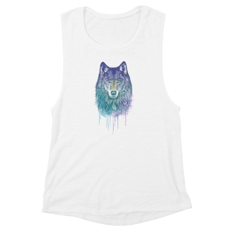 I Dream of Wolf Women's Muscle Tank by rcaldwell's Shop