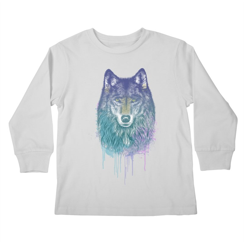 I Dream of Wolf Kids Longsleeve T-Shirt by rcaldwell's Shop