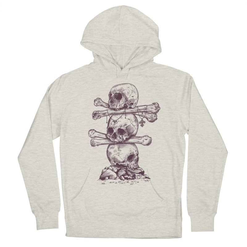 Skull Totem Men's Pullover Hoody by rcaldwell's Shop