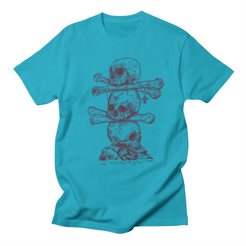 Skull Totem Men's T-shirt by rcaldwell's Shop