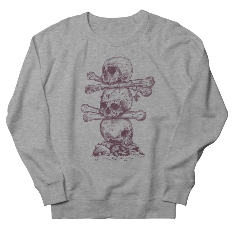 Skull Totem Men's Sweatshirt by rcaldwell's Shop