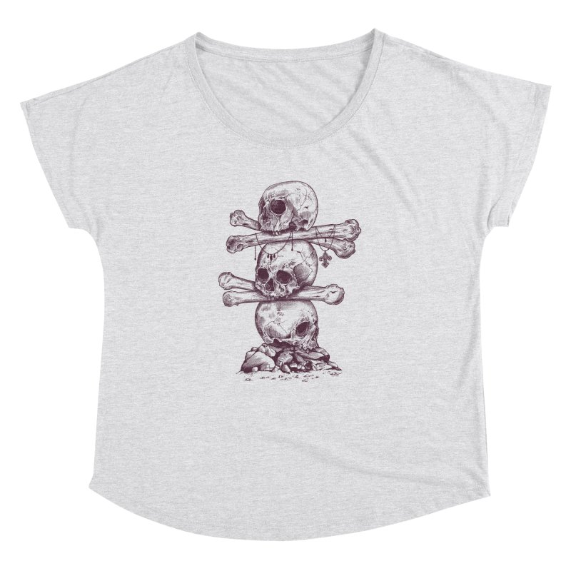 Skull Totem Women's Dolman by rcaldwell's Shop