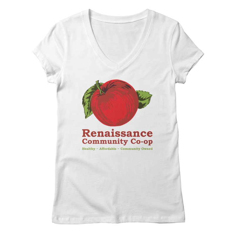 Original Logo TEE Women's Regular V-Neck by Merch@RCC