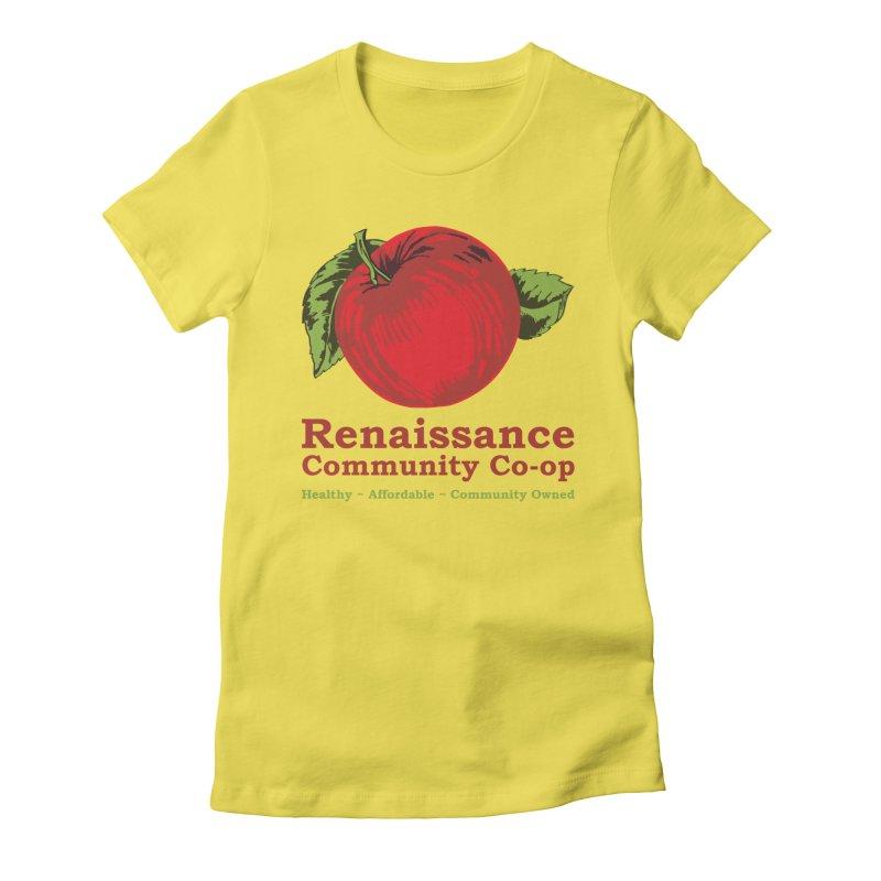 Original Logo TEE Women's Fitted T-Shirt by Merch@RCC