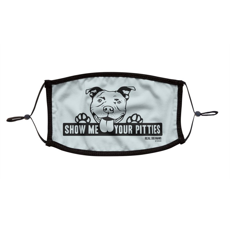 Show me your pitties - dog Accessories Face Mask by rdmoc's Artist Shop