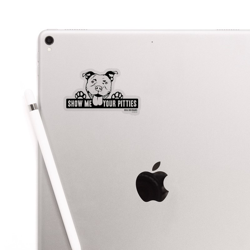 Show me your pitties - dog Accessories Sticker by RDMOC's Artist Shop