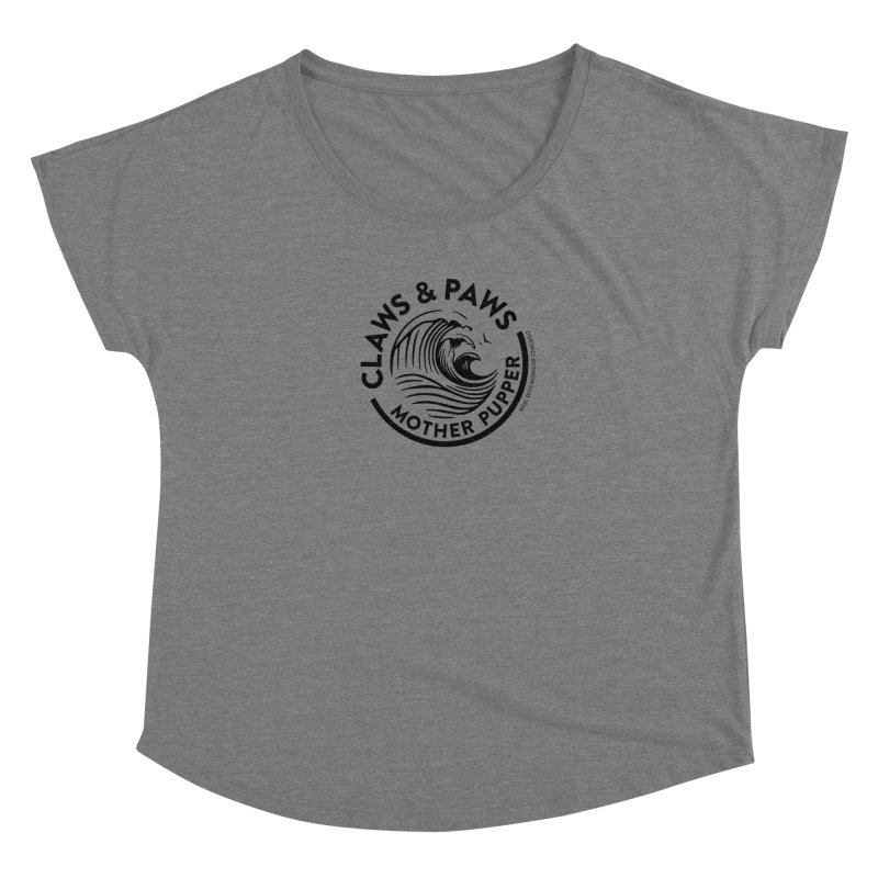 Claws & Paws Women's Scoop Neck by rdmoc's Artist Shop