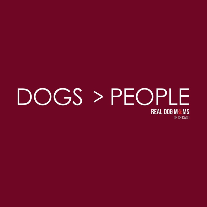 Dogs > People Men's T-Shirt by rdmoc's Artist Shop