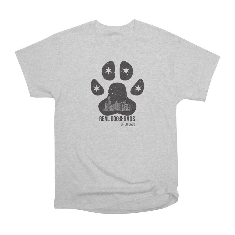 Chicago Dad Paw Men's T-Shirt by rdmoc's Artist Shop