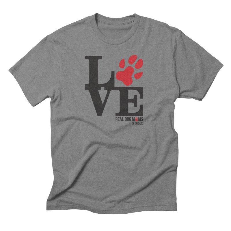 Love Paws Men's T-Shirt by rdmoc's Artist Shop
