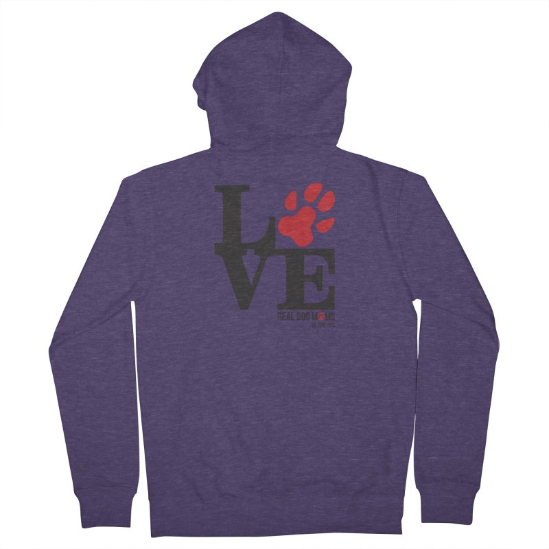 Love Paws Men's Zip-Up Hoody by RDMOC's Artist Shop