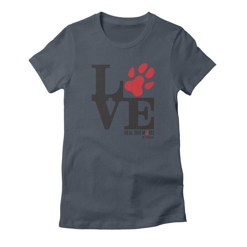 Love Paws Women's T-Shirt by rdmoc's Artist Shop