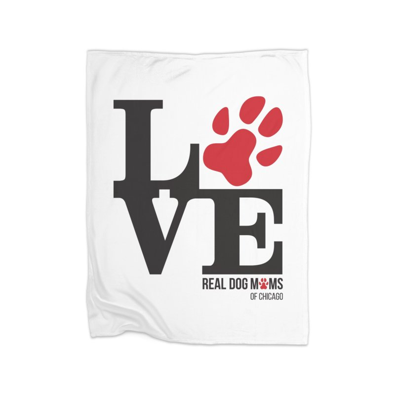 Love Paws Home Blanket by RDMOC's Artist Shop