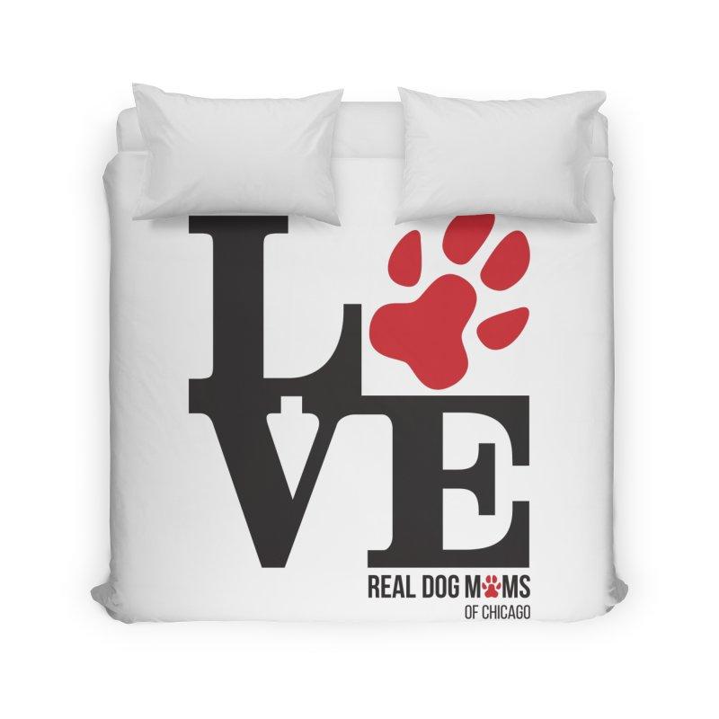 Love Paws Home Duvet by RDMOC's Artist Shop