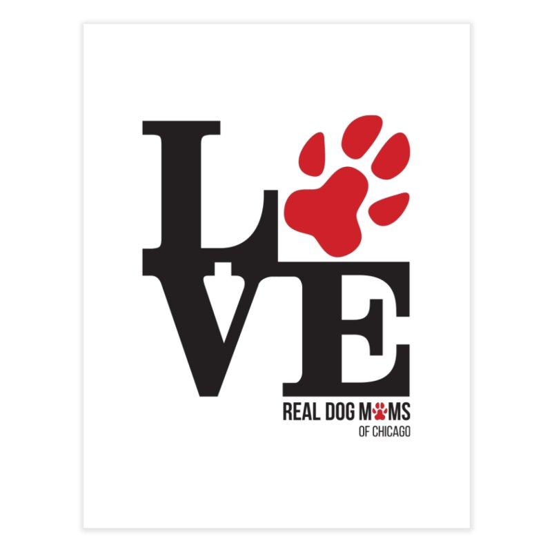 Love Paws Home Fine Art Print by rdmoc's Artist Shop