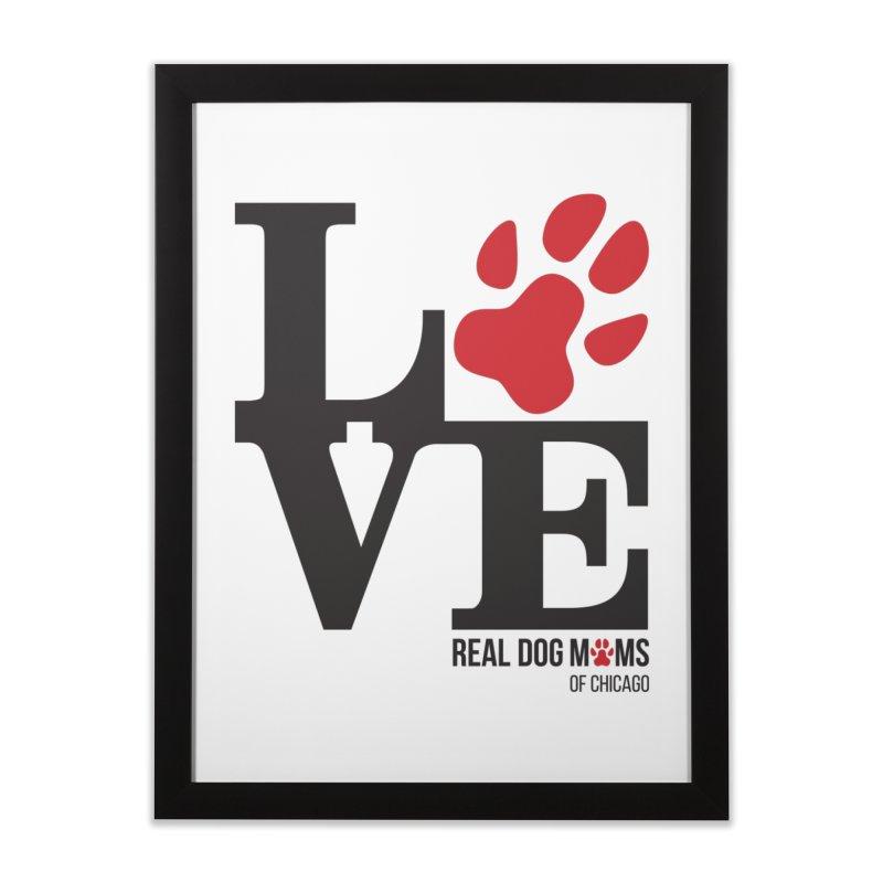 Love Paws Home Framed Fine Art Print by rdmoc's Artist Shop