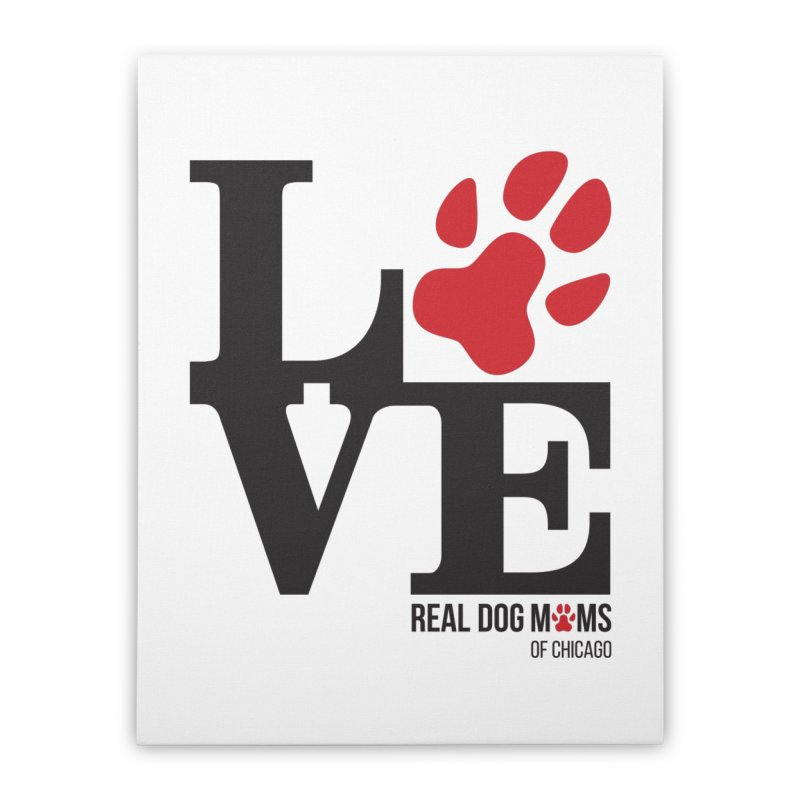 Love Paws Home Stretched Canvas by RDMOC's Artist Shop
