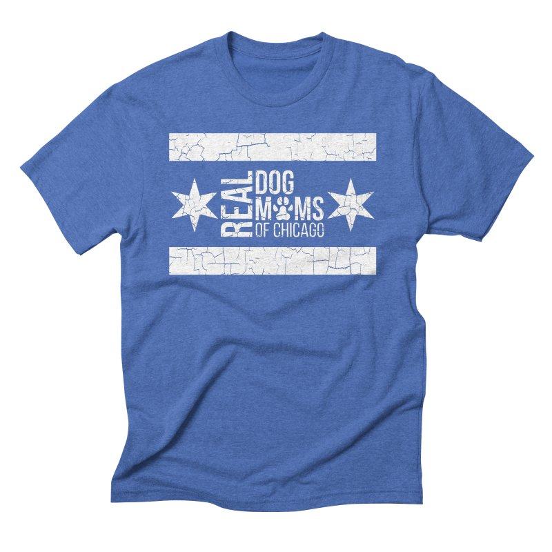 Chicago Dog Mom Men's T-Shirt by rdmoc's Artist Shop