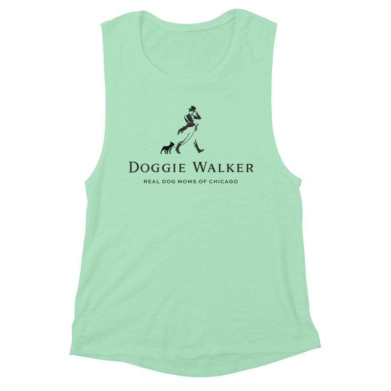 Doggie Walker Women's Tank by rdmoc's Artist Shop