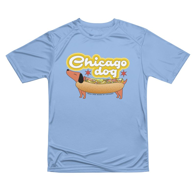Chicago Dog Women's T-Shirt by RDMOC's Artist Shop