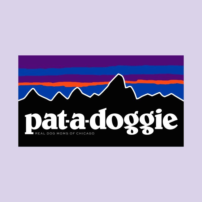 pat-a-doggie Women's Scoop Neck by rdmoc's Artist Shop