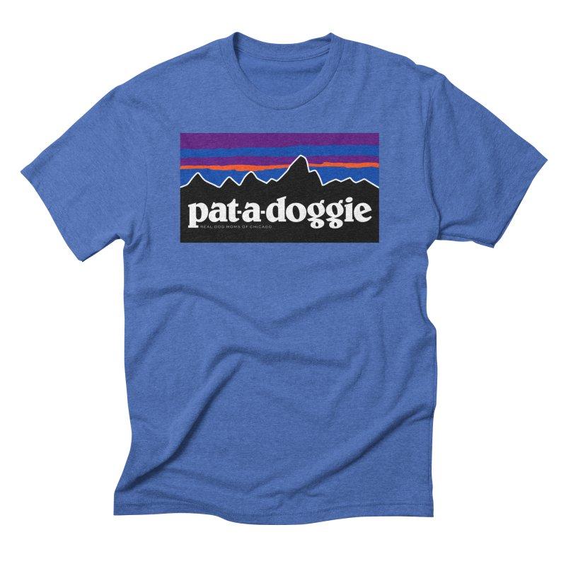 pat-a-doggie Men's T-Shirt by rdmoc's Artist Shop