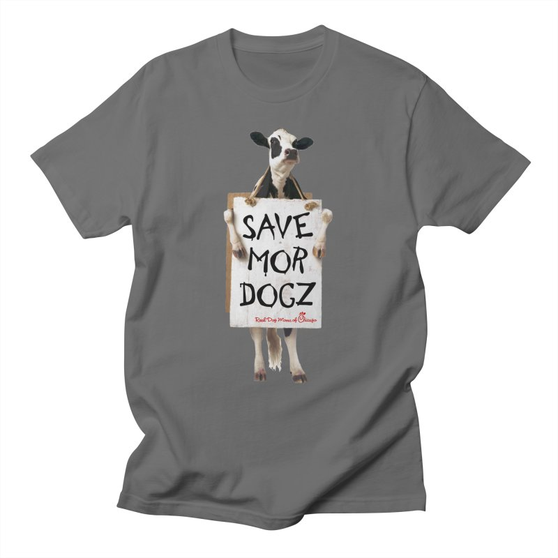 Chick-fil-dog Men's T-Shirt by rdmoc's Artist Shop