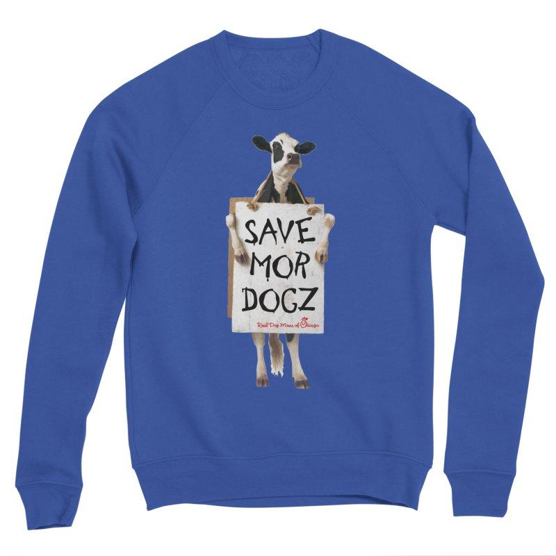Chick-fil-dog Women's Sweatshirt by rdmoc's Artist Shop