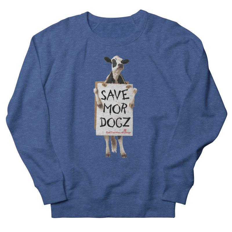 Chick-fil-dog Men's Sweatshirt by rdmoc's Artist Shop