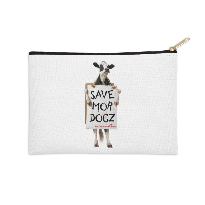 Chick-fil-dog Accessories Zip Pouch by RDMOC's Artist Shop