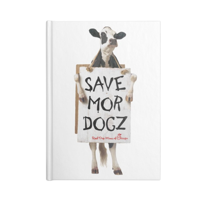Chick-fil-dog Accessories Notebook by rdmoc's Artist Shop