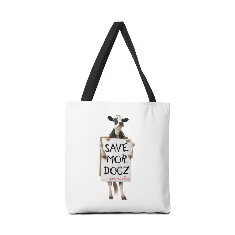 Chick-fil-dog Accessories Bag by rdmoc's Artist Shop