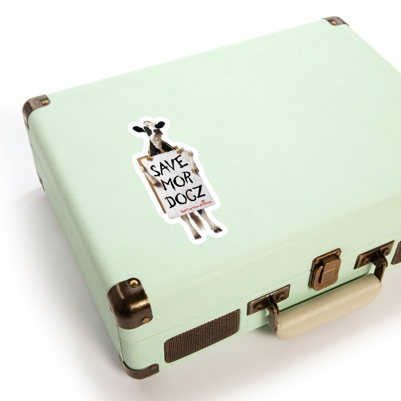 Chick-fil-dog Accessories Sticker by rdmoc's Artist Shop
