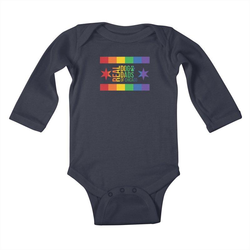 Pride Dad Kids Baby Longsleeve Bodysuit by RDMOC's Artist Shop