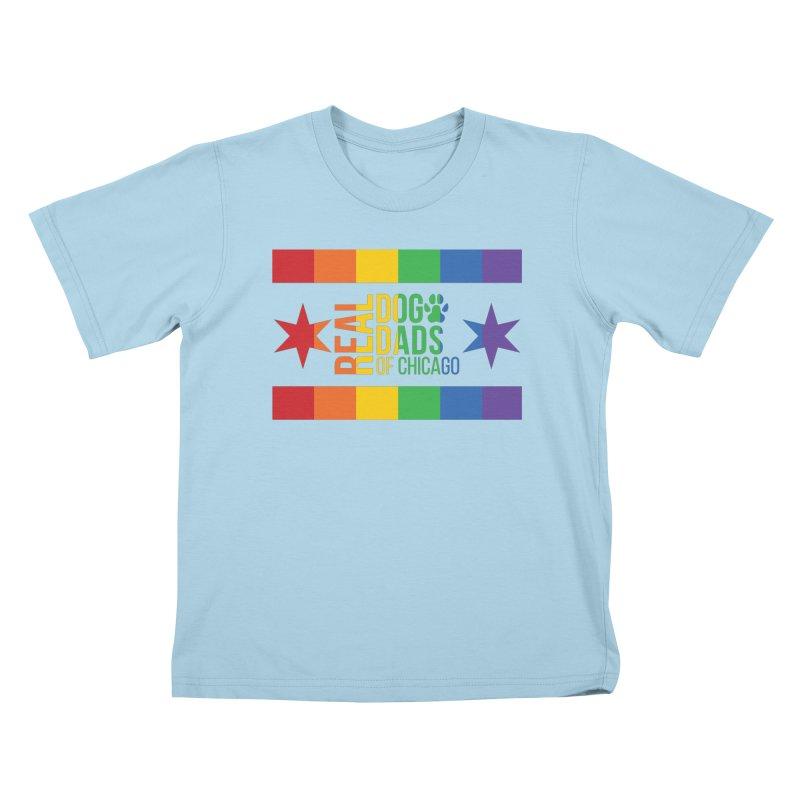 Pride Dad Kids T-Shirt by RDMOC's Artist Shop