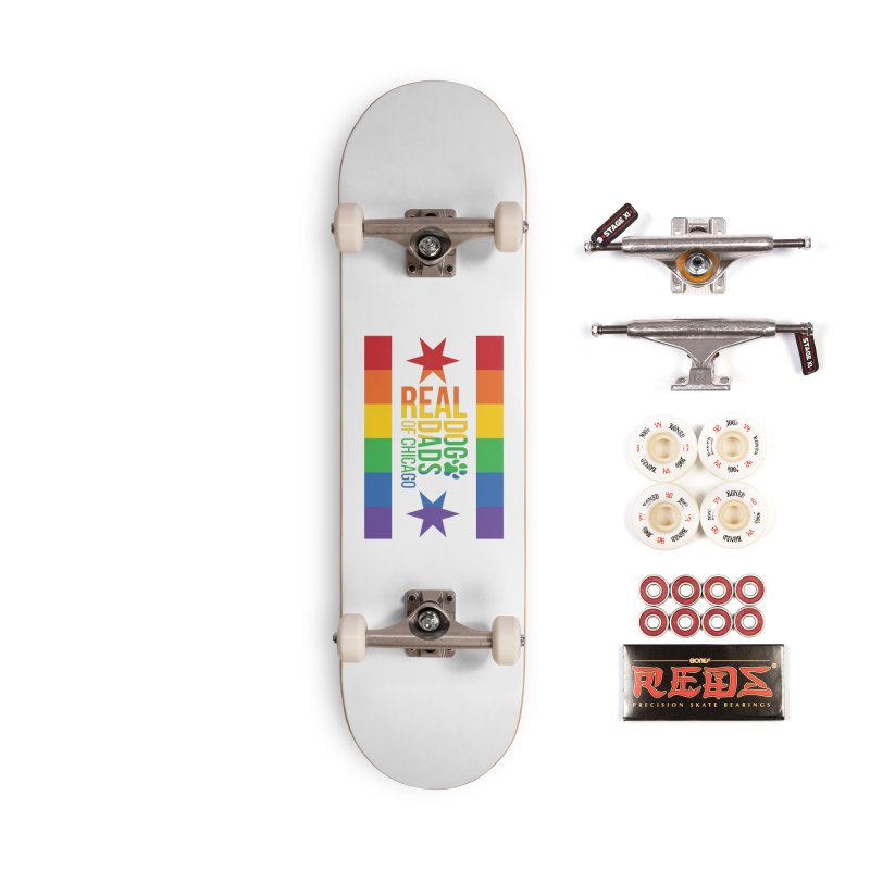 Pride Dad Accessories Skateboard by rdmoc's Artist Shop