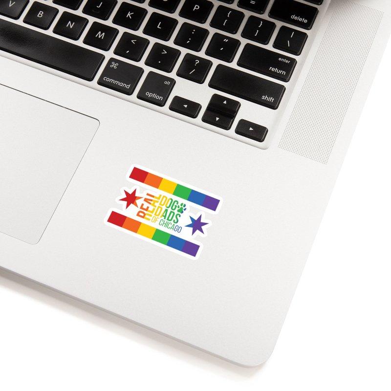 Pride Dad Accessories Sticker by rdmoc's Artist Shop