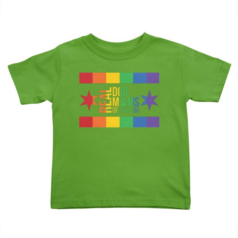 Pride Mom Kids Toddler T-Shirt by rdmoc's Artist Shop