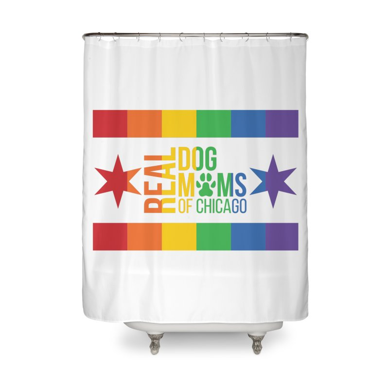 Pride Mom Home Shower Curtain by rdmoc's Artist Shop
