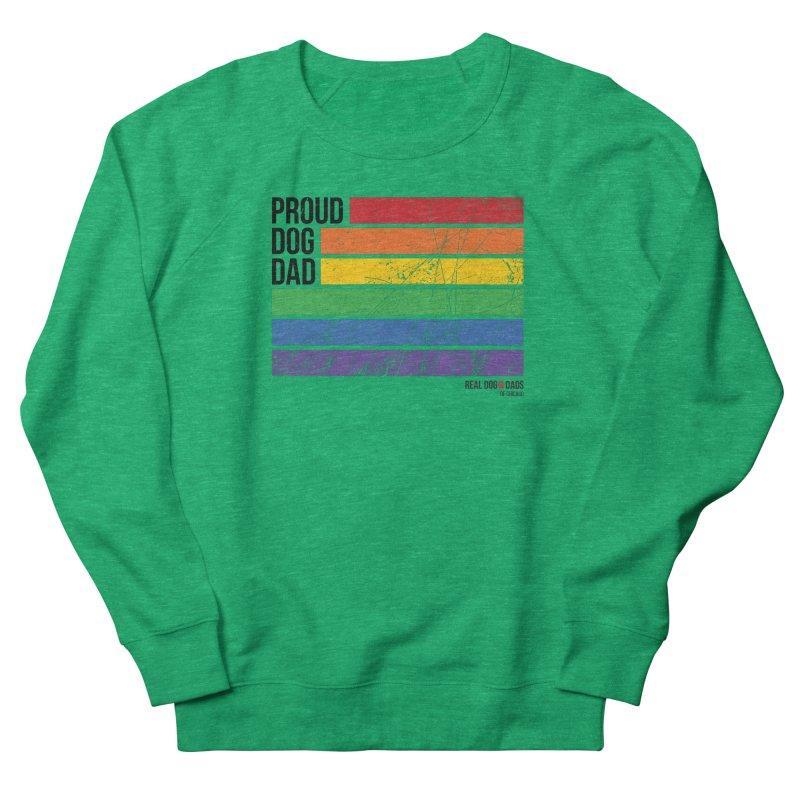 Proud Dog Dad Women's Sweatshirt by rdmoc's Artist Shop