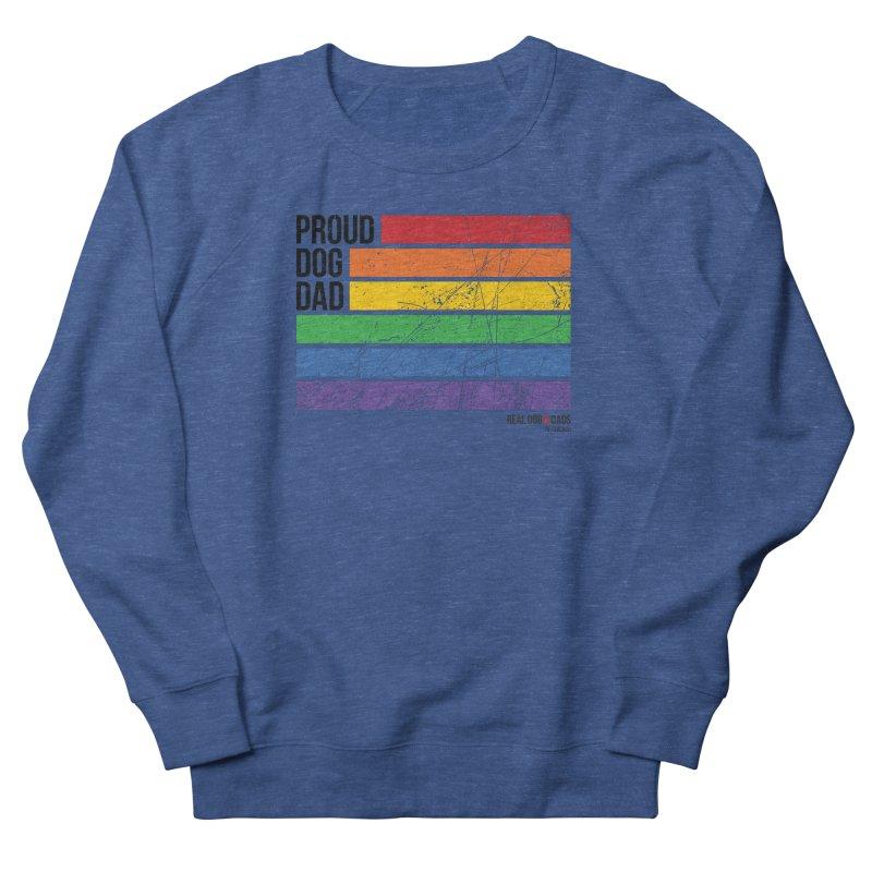Proud Dog Dad Men's Sweatshirt by RDMOC's Artist Shop